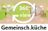 360-Gard-Aufnahme: Gemeinschaftsküche