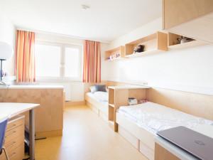 Zweibettzimmer im ÖJAB-Haus Liesing.