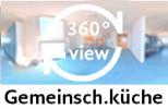 360-Grad-Aufnahme der Gemeinschaftsküche