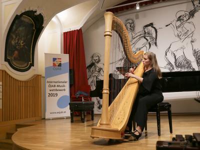 Abschließend folgte eine beindruckende Performance von Julia Kräuter...