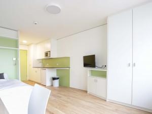 Single Studio XL at the ÖJAB-Haus Niederösterreich 1.