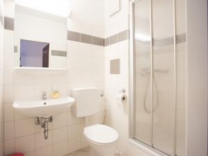 Badezimmer des ÖJAB-Hauses Burgenland 1.