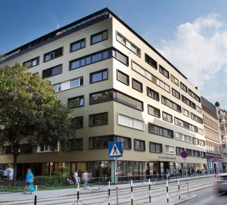 Das neue ÖJAB-Haus Niederösterreich 1 ab März 2019 (Alle Abbildungen: b18 architekten zt gmbh)