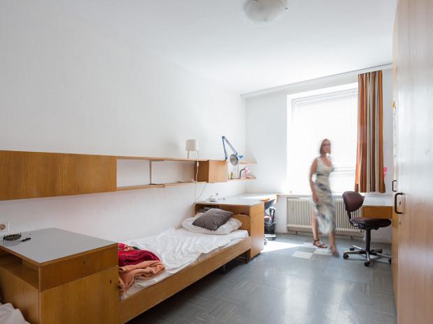 Zweibettzimmer im ÖJAB-Haus Peter Jordan.