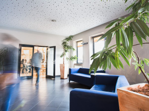 Eingangsbereich im ÖJAB-Haus Meidling.