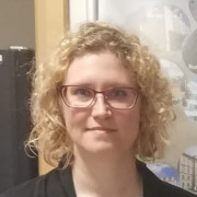 BewohnerInnensprecherin Angela-Larissa Dworsky