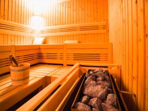 Sauna des ÖJAB-Hauses Meidling.