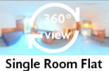 360-view of a single room flat