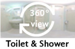 360-view of a bathroom in a Single Room.