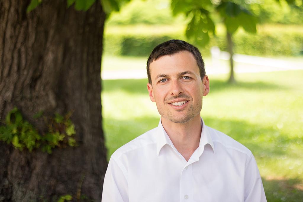 Leiter der Generationen-Wohngemeinschaft Hanauskagasse Markus Gimpl.