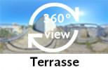 360-Grad-Aufnahme: Terrasse