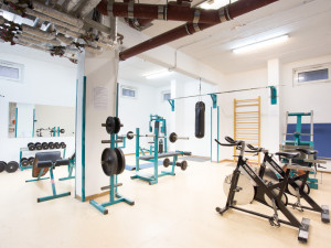 Fitness room of the ÖJAB-Haus Mödling.
