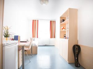 Single Room of the ÖJAB-Haus Niederösterreich 2.