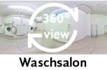 360-Grad-Aufnahme Waschsalon