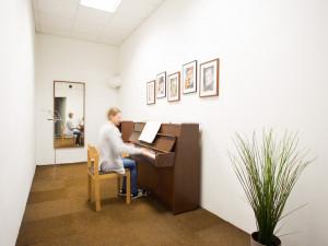 Musikübungsraum des ÖJAB-Hauses Steiermark.