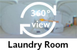 360-view of laundry room