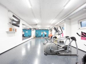 Fitnessraum im ÖJAB-Europahaus Dr. Bruno Buchwieser.