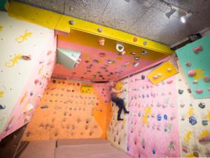Kletterraum im Studentinnen- und Studentenheim. Unser Kletterraum ist für alle da!