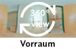 360-Grad-Aufnahme: Vorraum