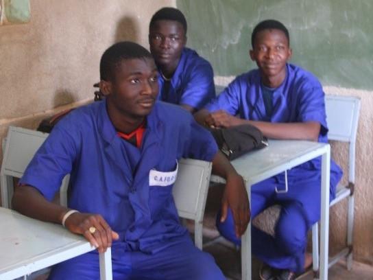 Teilnehmer der Ausbildung für InstallateurInnen in Burkina Faso.