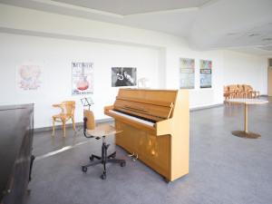 Musikübungsraum im ÖJAB-Haus Donaufeld.