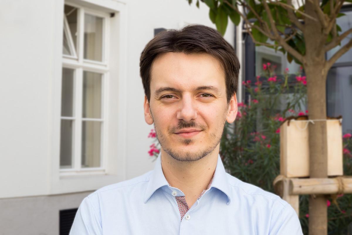 Heimleiter des ÖJAB-Hauses Dr. Rudolf Kirchschläger Aleksander Rudic.