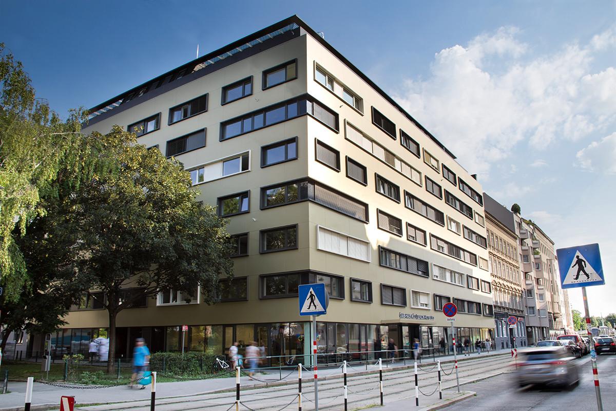 Symbolbild Studentenheim ÖJAB-Haus Niederösterreich 1 in Wien.