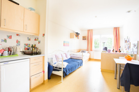 Single Room at the ÖJAB-Haus Liesing.