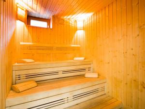 Sauna des ÖJAB-Hauses Liesing.