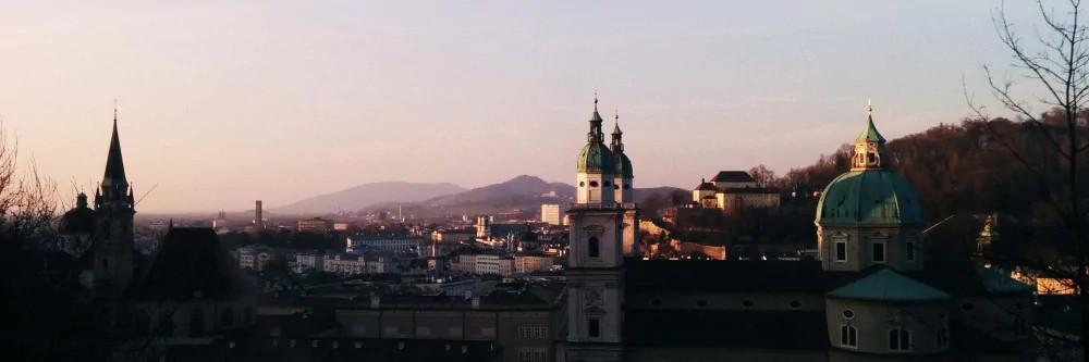 Panorama der Salzburger Innenstadt