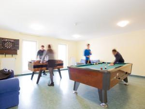Gemeinschaftsraum im ÖJAB-Europahaus Dr. Bruno Buchwieser.