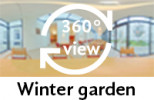 360° view of winter garden