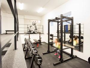 Fitnessraum des ÖJAB-Hauses Burgenland 1.