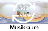 360-Grad-Aufnahmen Musikraum