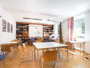 Lernraum im ÖJAB-Haus Peter Jordan.