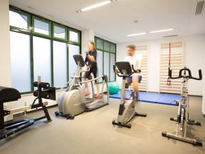 Fitness room of the ÖJAB-Haus Steiermark.