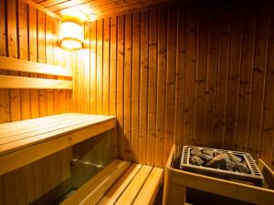 Sauna des ÖJAB-Hauses Donaufeld.