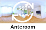 360-view of a Anterroom of a Single in Double Room.