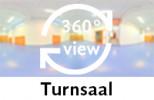360-Grad-Aufnahme des Turnsaals