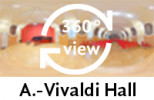 360° view of Antonio Vivaldi Hall
