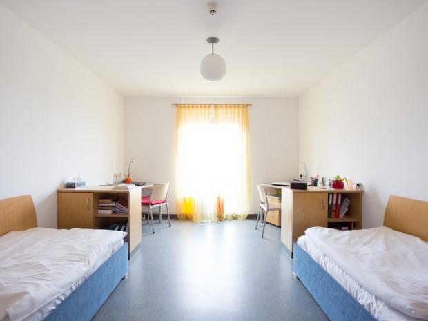Zweibettzimmer im ÖJAB-Haus Eisenstadt.