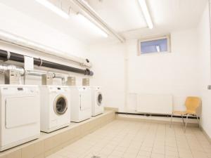 Waschsalon des ÖJAB-Hauses Liesing.