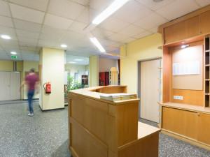 Rezeption im Eingangsbereich des ÖJAB-Hauses Burgenland 2.
