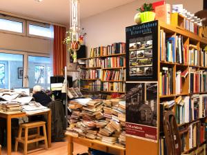 Bibliothek des ÖJAB-Hauses Neumargareten.