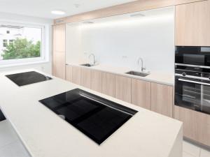 Illustration of the Communal kitchen of the ÖJAB-Haus Niederösterreich 1.