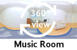 360°-view Music Room
