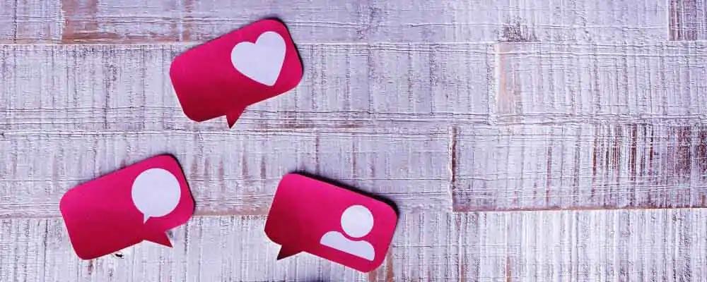 symbolic image social media