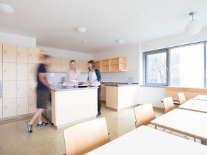 Gemeinschaftsküche im ÖJAB-Haus Eisenstadt.