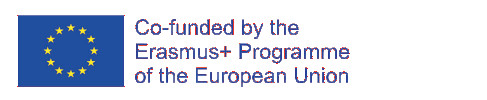 Logo Erasmus+ Programme of the European Union.