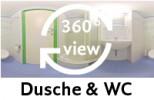 360-Grad-Aufnahme Bad